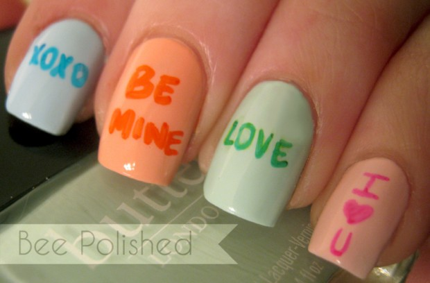 25 Valentine's Day Inspired Nail Art Tutorials