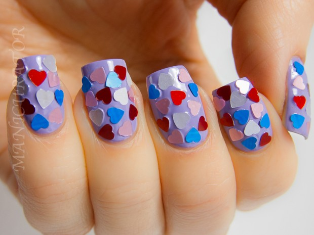 25 Lovely Valentine's Day Inspired Nail Art Ideas (12)