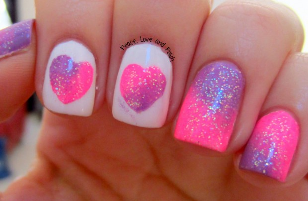 25 Lovely Valentine's Day Inspired Nail Art Ideas (13)