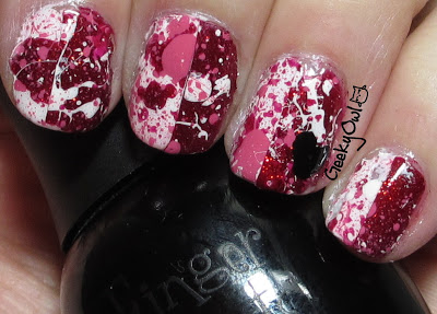 25 Lovely Valentine's Day Inspired Nail Art Ideas (14)