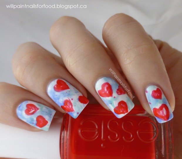 25 Lovely Valentine's Day Inspired Nail Art Ideas (18)