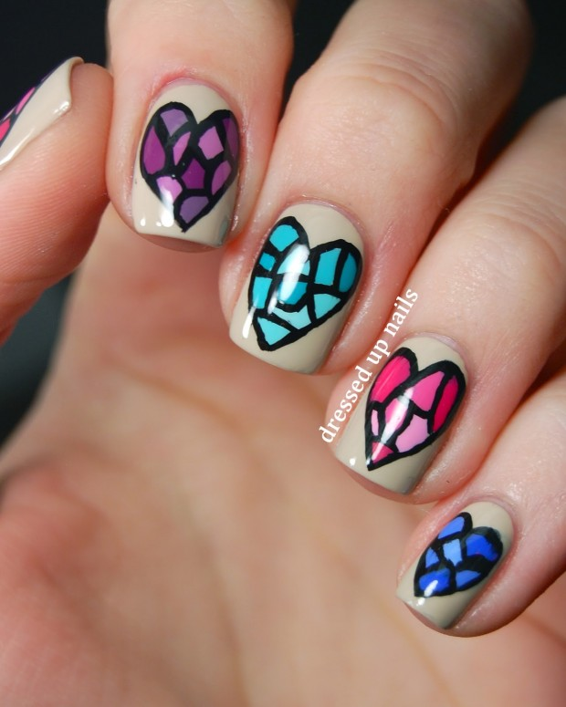 25 Lovely Valentine's Day Inspired Nail Art Ideas (19)