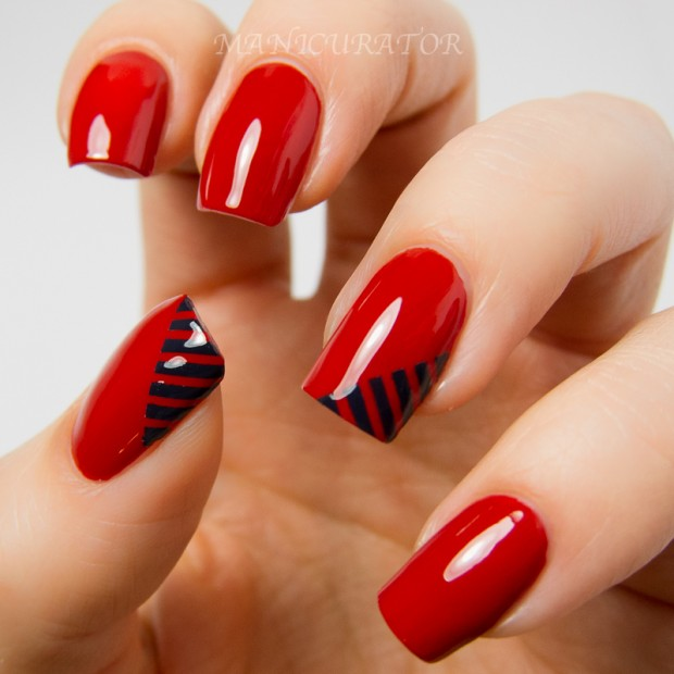 25 Lovely Valentine's Day Inspired Nail Art Ideas (2)