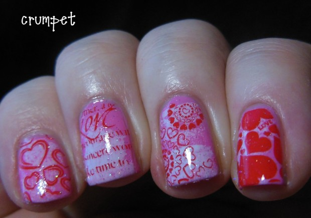 25 Lovely Valentine's Day Inspired Nail Art Ideas (24)