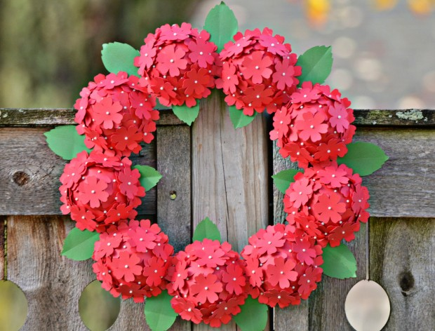 25 Outstandingly Cute Handmade Valentine's Wreath Designs (1)