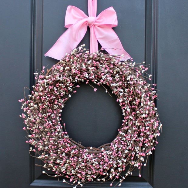 25 Outstandingly Cute Handmade Valentine's Wreath Designs (2)