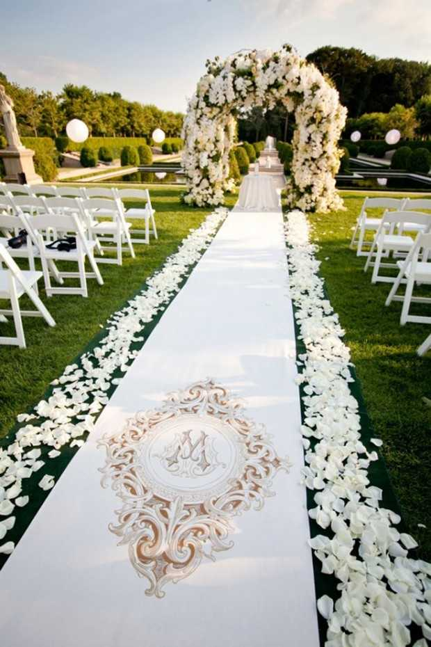 25 beautiful and romantic garden wedding ideas style motivation - Garden wedding decorations pictures ...