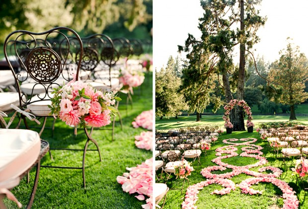 romantic garden wedding ideas in full bloom