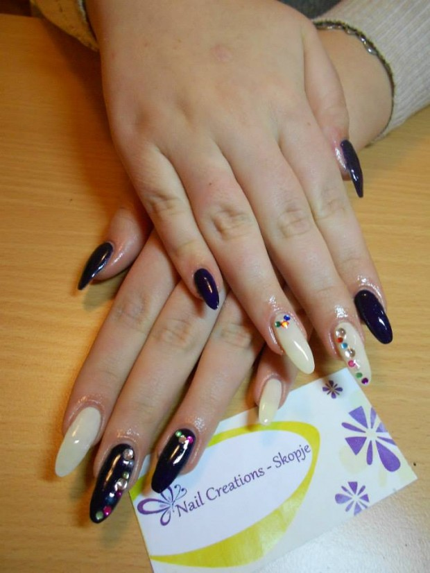 32 Simple and Elegant Nail Design Ideas   (10)