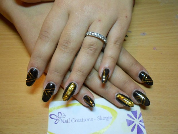 32 Simple and Elegant Nail Design Ideas   (16)