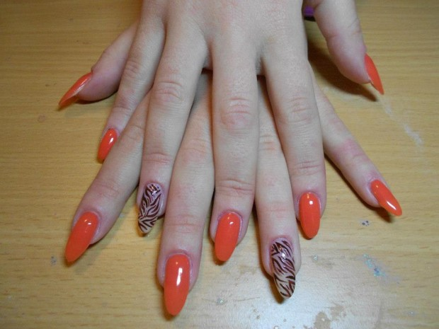 32 Simple and Elegant Nail Design Ideas   (32)