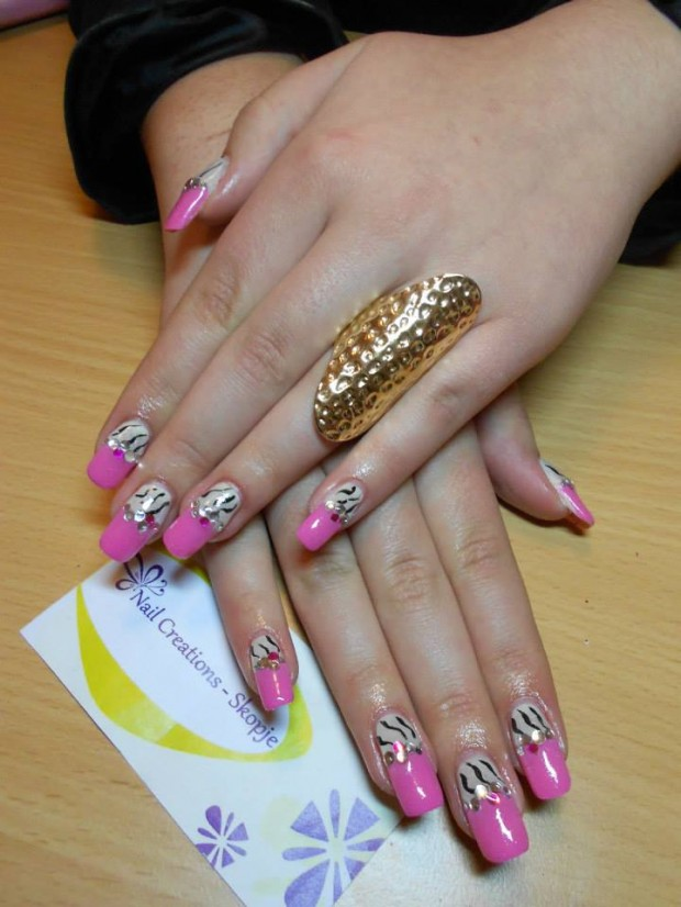 32 Simple and Elegant Nail Design Ideas   (8)