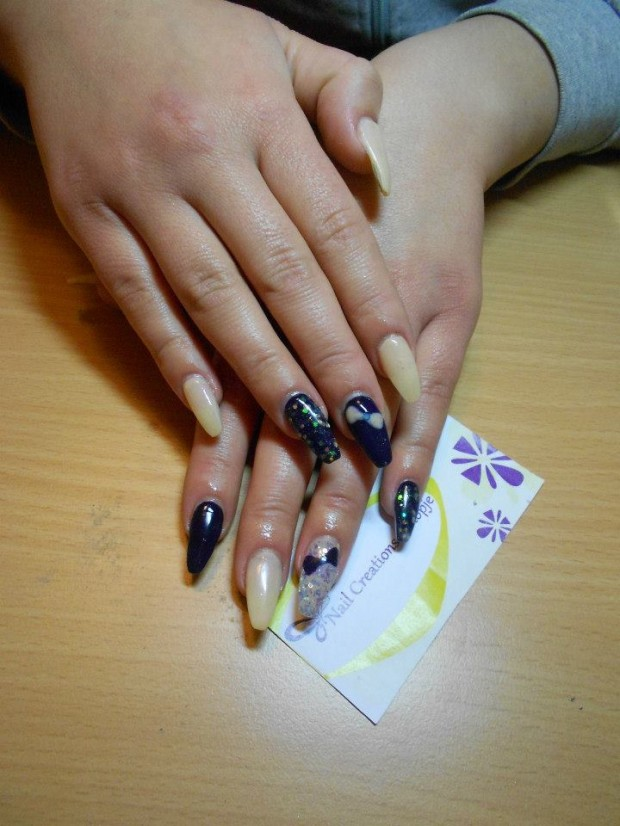 32 Simple and Elegant Nail Design Ideas   (9)