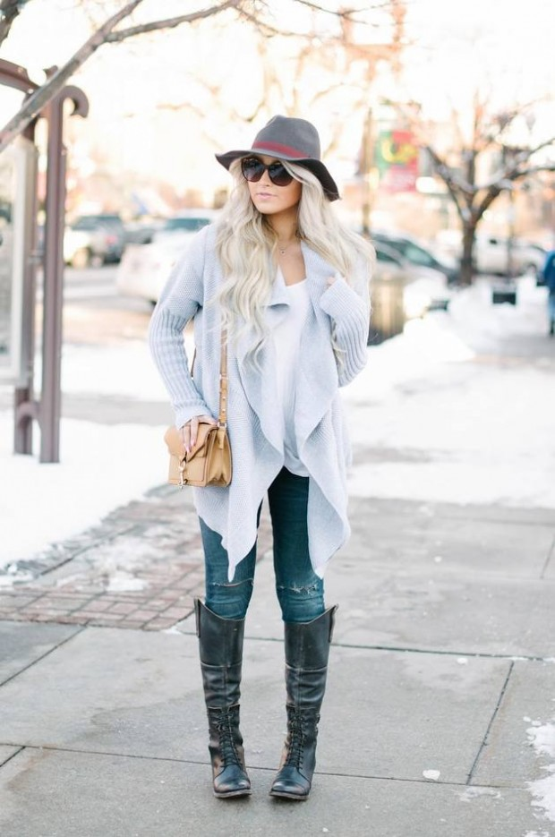 Cardigans for Stylish and Cozy Look 22 Gorgeous Outfit Ideas (12)