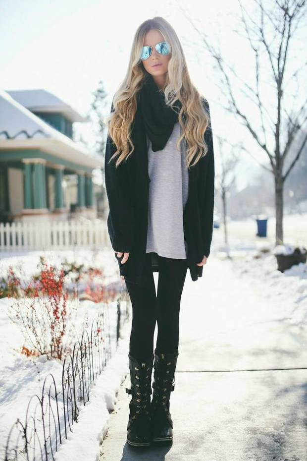 Cardigans for Stylish and Cozy Look 22 Gorgeous Outfit Ideas (15)