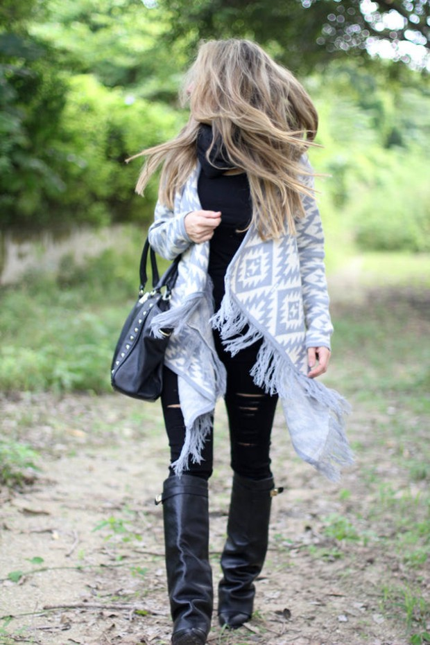 Cardigans for Stylish and Cozy Look 22 Gorgeous Outfit Ideas (16)