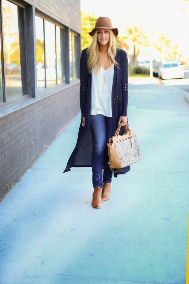 Cardigans for Stylish and Cozy Look 22 Gorgeous Outfit Ideas (4)