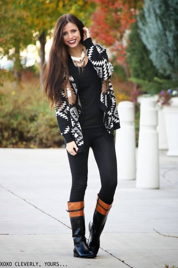 Cardigans for Stylish and Cozy Look 22 Gorgeous Outfit Ideas (8)