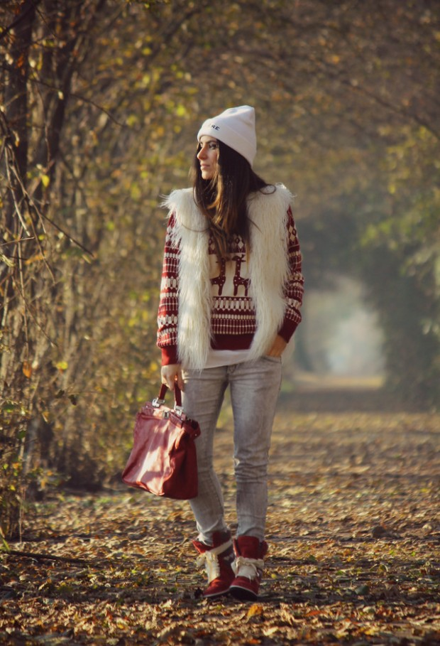Cozy Sweater for Cold Weather 18 Stylish Outfit Ideas (15)