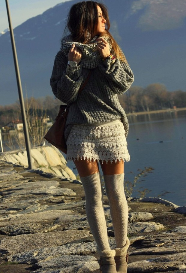 Cozy Sweater for Cold Weather 18 Stylish Outfit Ideas (2)