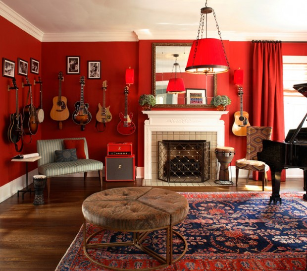 Great Home Decor Ideas: Decorating In Red: 23 Great Home Decor Ideas