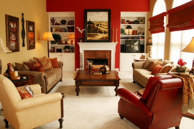 Decorating in Red 23 Great Home Decor Ideas (18)