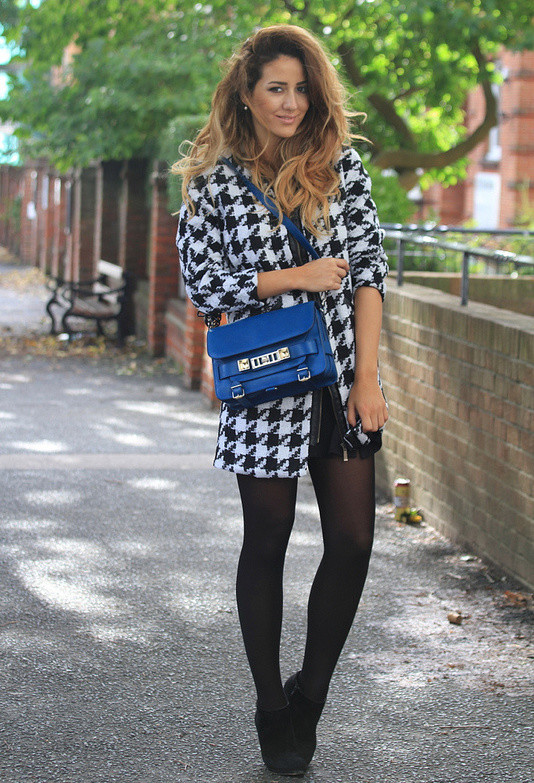 Houndstooth Print 17 Stylish Outfit Ideas (1)