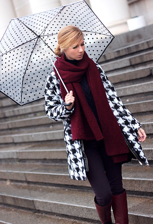 Houndstooth Print 17 Stylish Outfit Ideas (13)