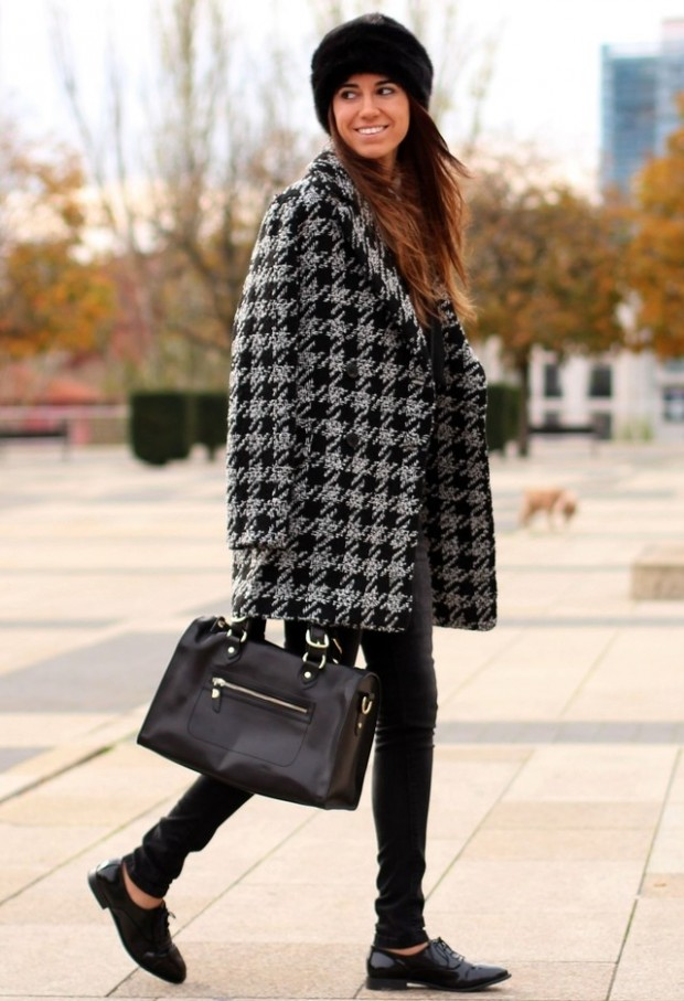 Houndstooth Print 17 Stylish Outfit Ideas (2)