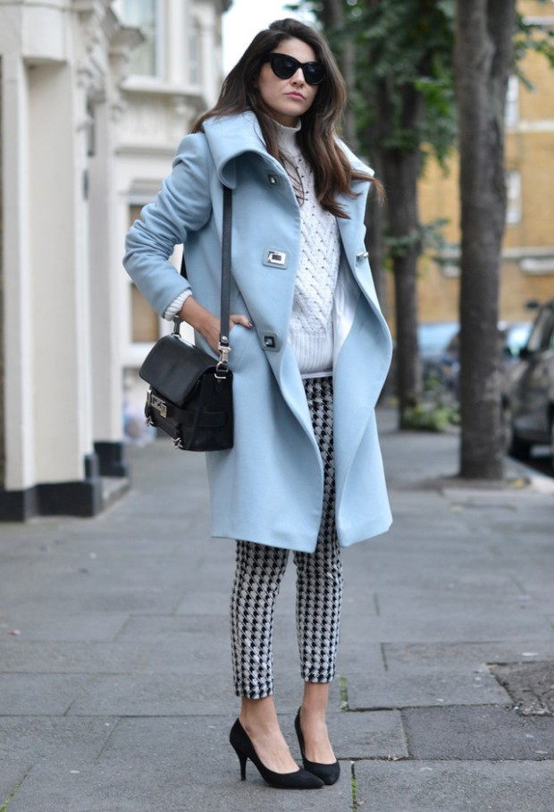 Houndstooth Print 17 Stylish Outfit Ideas (4)