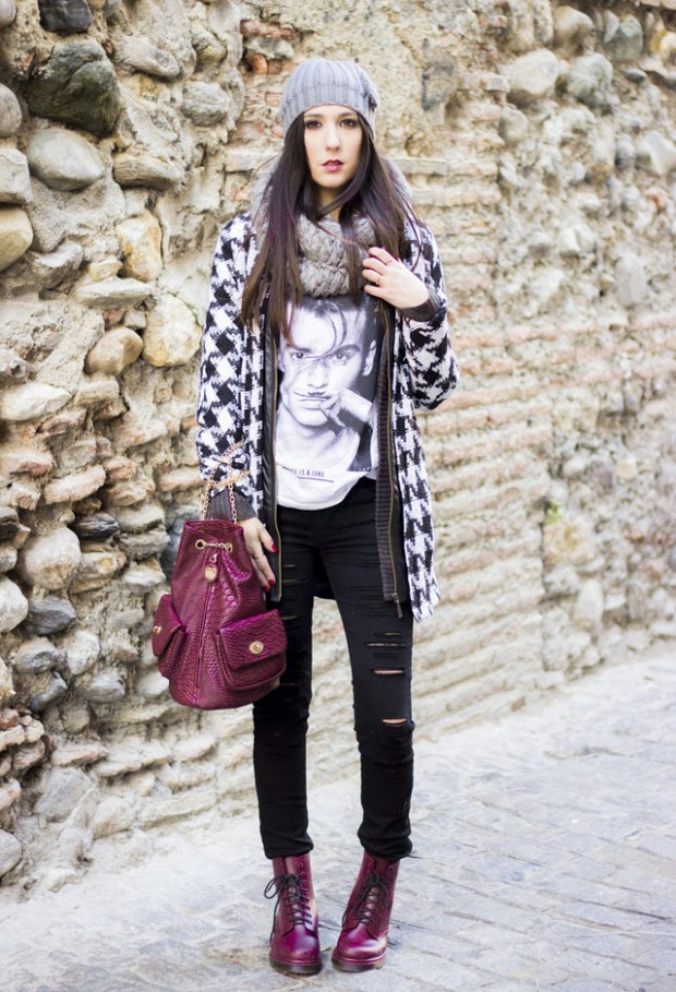 Houndstooth Print 17 Stylish Outfit Ideas (7)