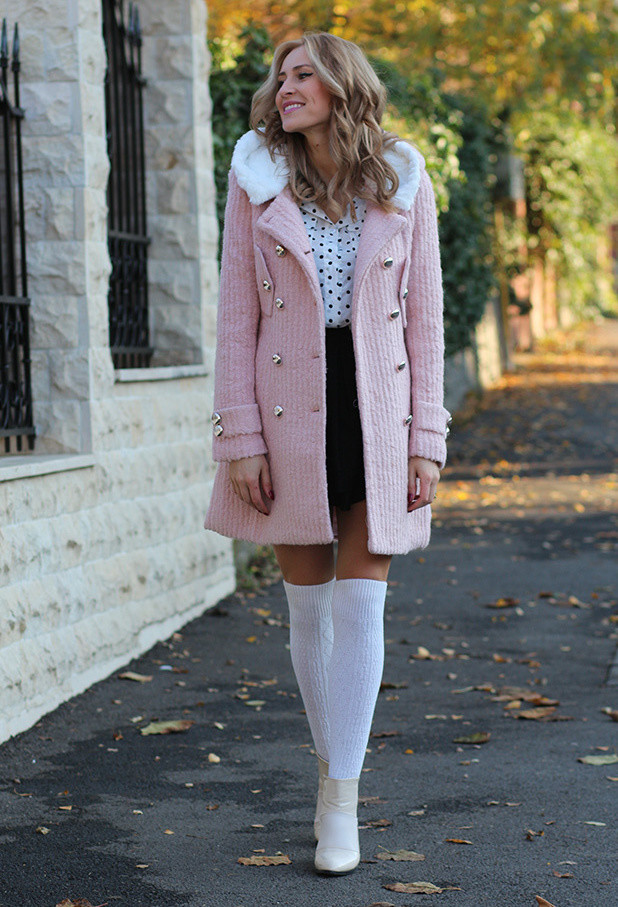 How to Wear Knee High Socks 19 Stylish Outfit Ideas (11)
