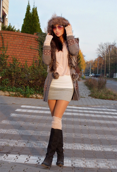 How to Wear Knee High Socks 19 Stylish Outfit Ideas (13)
