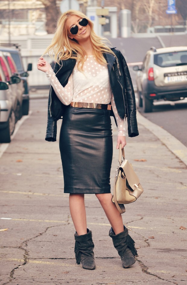 How to Wear Pencil Skirt Tips and Outfit Ideas (1)