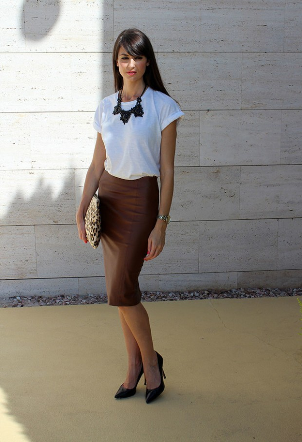 How to Wear Pencil Skirt Tips and Outfit Ideas (10)