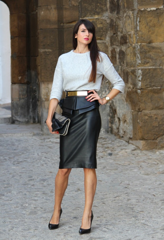 How to Wear Pencil Skirt Tips and Outfit Ideas (14)