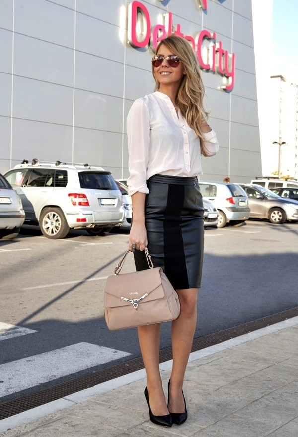 How to Wear Pencil Skirt Tips and Outfit Ideas (16)