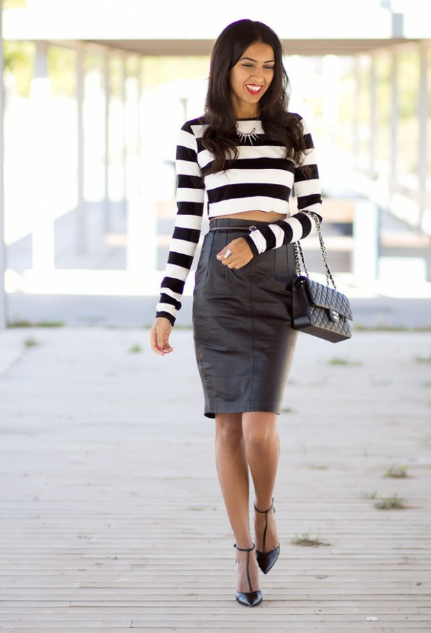 4f9a87da974a4 How to Wear Pencil Skirt: Tips and Outfit Ideas - Style Motivation