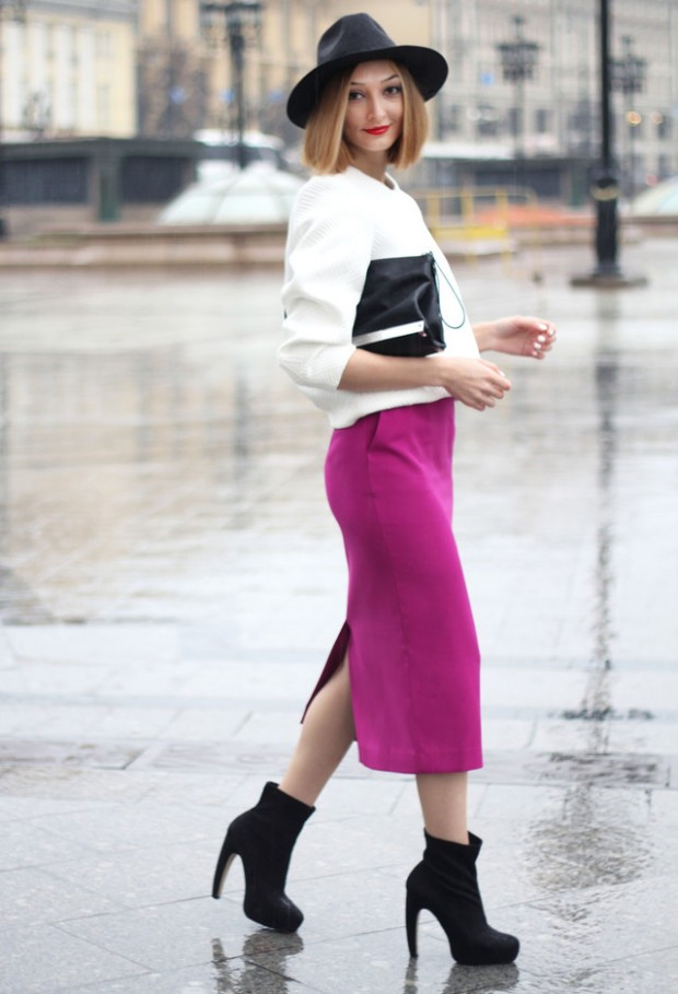 How to Wear Pencil Skirt Tips and Outfit Ideas (18)