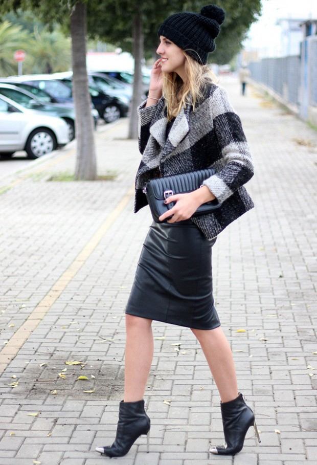 How to Wear Pencil Skirt Tips and Outfit Ideas (2)