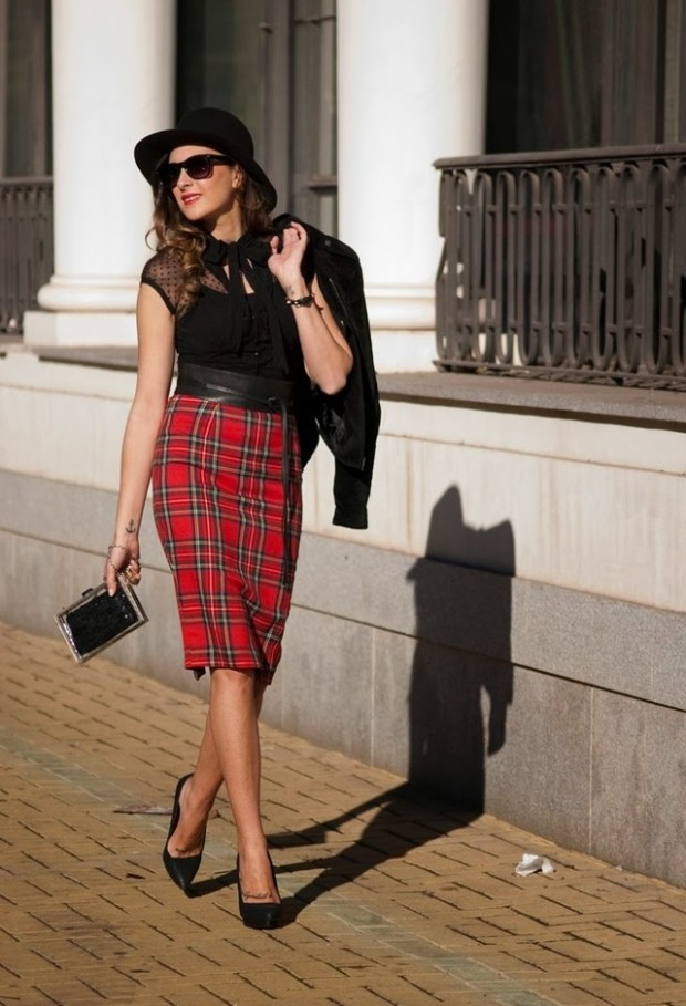 How to Wear Pencil Skirt Tips and Outfit Ideas (3)