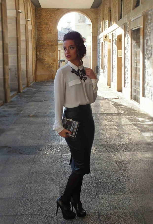 How to Wear Pencil Skirt Tips and Outfit Ideas (7)
