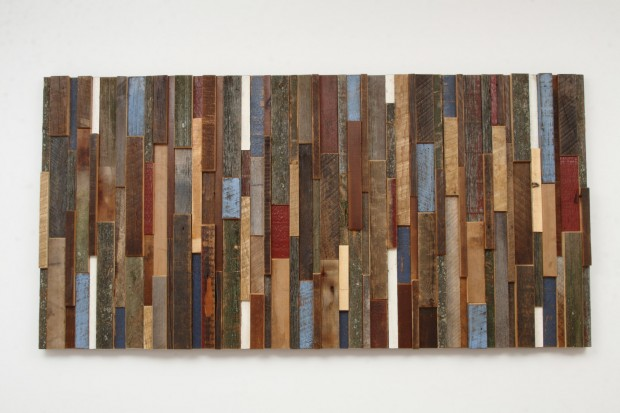 Outstanding Reclaimed Wood Wall Art (10)