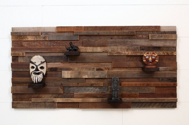 Outstanding Reclaimed Wood Wall Art (19)