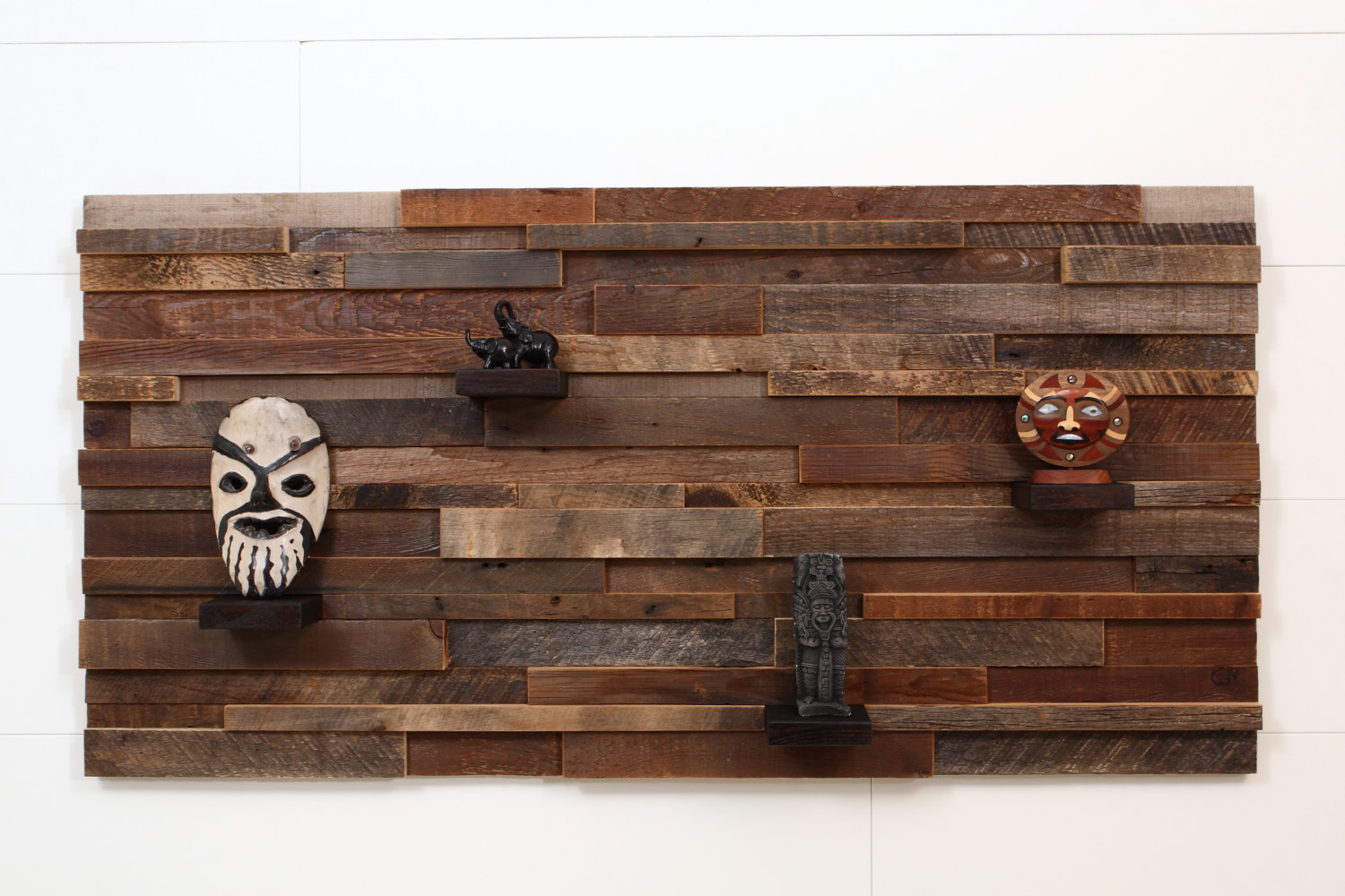 Wall Decor Wooden : Outstanding reclaimed wood wall art style motivation