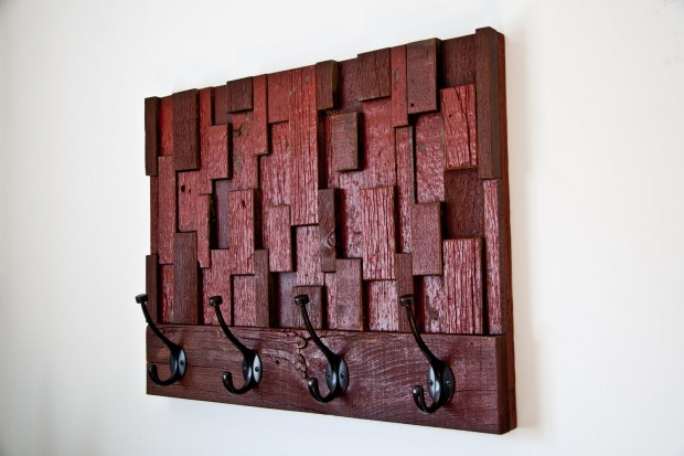 Outstanding Reclaimed Wood Wall Art (22)