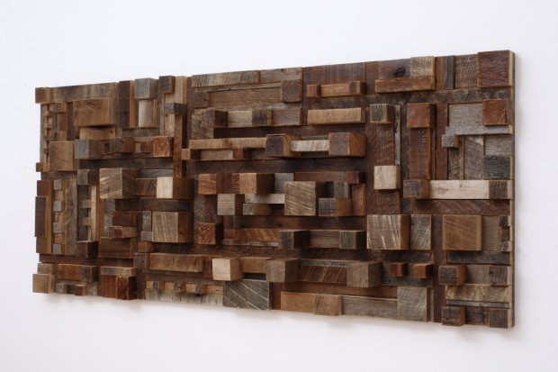 Outstanding Reclaimed Wood Wall Art (3)