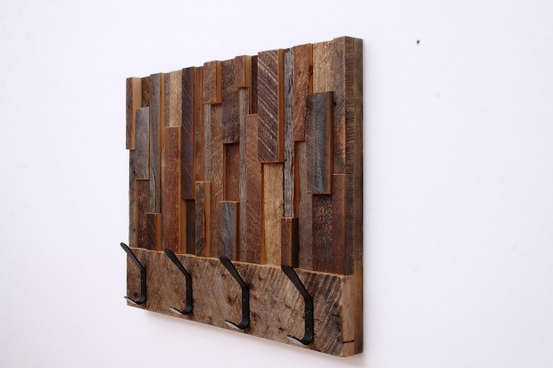 Outstanding Reclaimed Wood Wall Art (5)