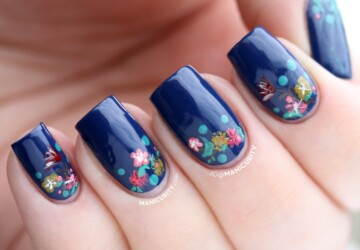 The Hottest Nail Art Trends for Spring: 20 Brilliant Ideas - spring nail art, Spring 2014, nail art trend, nail art ideas, nail