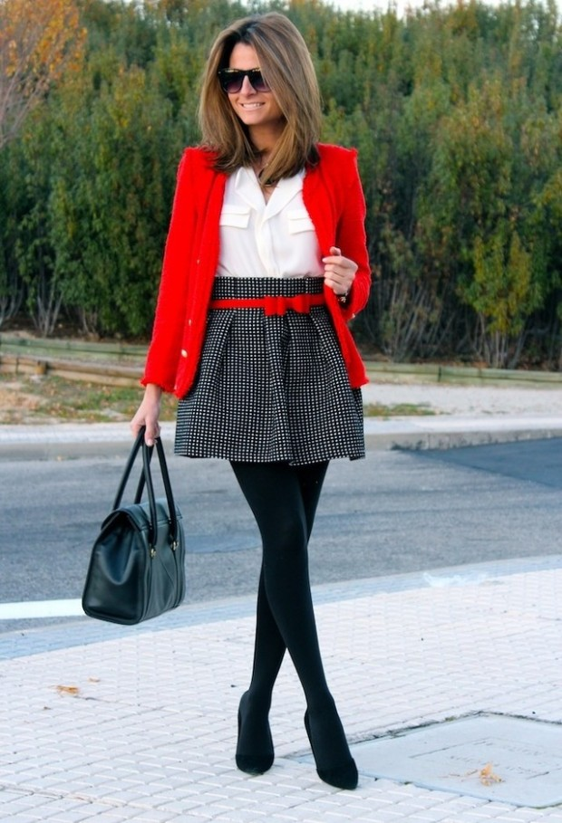 Wear Red on Valentineu2019s Day 20 Romantic Outfit Ideas - Style Motivation